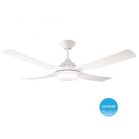 """LUCCI AIR MOONAH 212895 52"""" bílá/bílá Reverzní stropní ventilátor"""