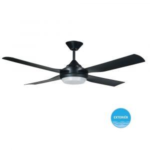 """LUCCI AIR MOONAH 212897 52"""" černá/černá Reverzní stropní ventilátor"""