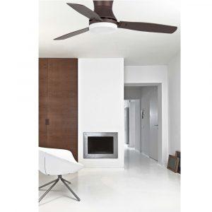 """FARO TONSAY 33386 52"""" hnědá/wenge/cedr Reverzní stropní ventilátor"""