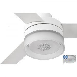 "FARO ICE LED SPEAKER 33460 52"" bílá/bílá/javor Reverzní stropní ventilátor"