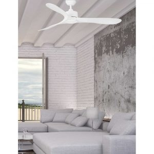 """FARO LUZON 33750 52"""" bílá/bílá Reverzní stropní ventilátor"""