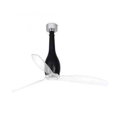"""FARO ETERFAN 32002 50,4"""" černá lesk/transparentní Reverzní stropní ventilátor"""