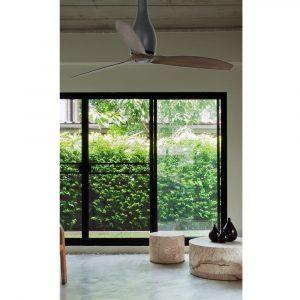 """FARO ETERFAN 32004 50,4"""" matná černá/tmavé dřevo Reverzní stropní ventilátor"""