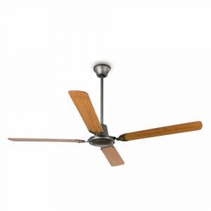 "FARO MALVINAS 33110 55,1"" šedá/ořech/červený mahagon Reverzní stropní ventilátor"