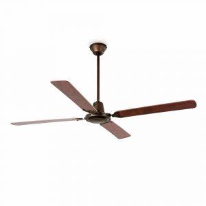 """FARO MALVINAS 33111 55,1"""" hnědá/červený mahagon/mahagon Reverzní stropní ventilátor"""