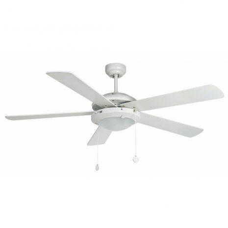 """FARO MANILA 33190 52"""" bílá/bílá/javor Reverzní stropní ventilátor"""