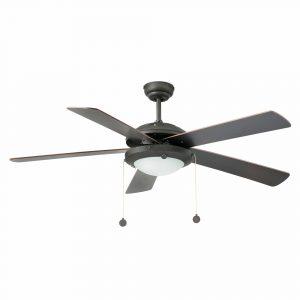 """FARO MANILA 33192 52"""" hnědá/wenge/mahagon Reverzní stropní ventilátor"""
