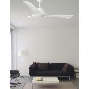 """FARO LAKKI 33317 52"""" bílá/bílá Reverzní stropní ventilátor"""