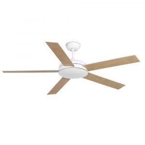 """FARO NOVA 33420 52"""" bílá/bílá/javor Reverzní stropní ventilátor"""
