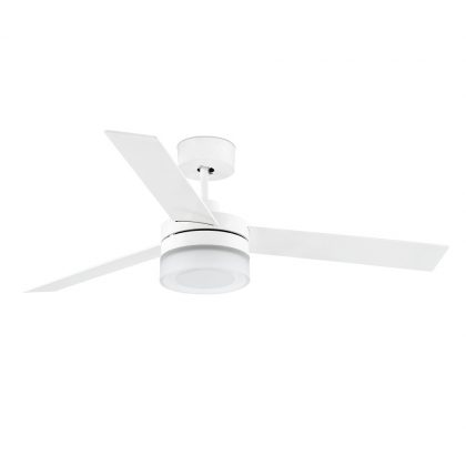 "FARO ICE LED 33459 52"" bílá/bílá/javor Reverzní stropní ventilátor"