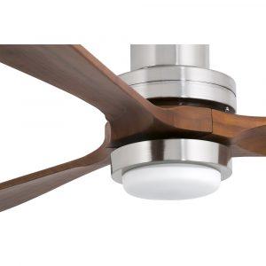 """FARO LANTAU-G LED 33463 66,1"""" matný nikl/tmavý ořech Reverzní stropní ventilátor"""