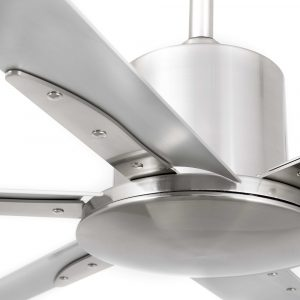 """FARO ANDROS 33465 83,9"""" matný nikl/hliník Reverzní stropní ventilátor"""