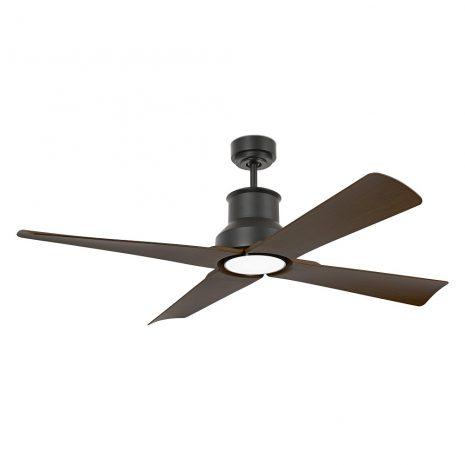 """FARO WINCHE 33481 50"""" černá/tmavé dřevo Reverzní stropní ventilátor"""