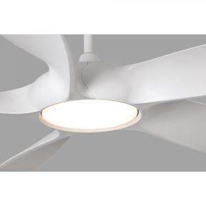 """FARO COCOS 33548 54"""" bílá/bílá Reverzní stropní ventilátor"""