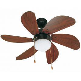 """FARO PALAO 33185 31,8"""" tmavě hnědá/mahagon Reverzní stropní ventilátor"""