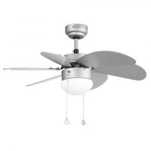 """FARO PALAO 33186 31,8"""" šedá/šedá Reverzní stropní ventilátor"""