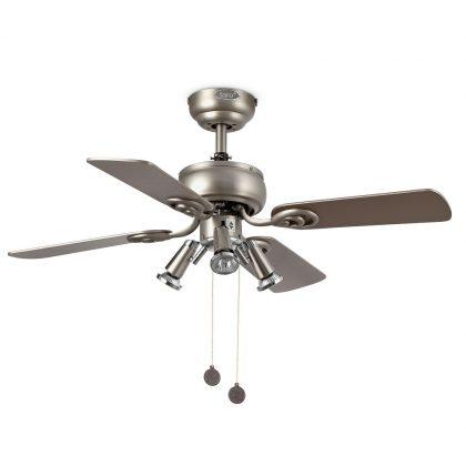 """FARO GALAPAGO 33301 35,8"""" šedá/šedá/javor Reverzní stropní ventilátor"""