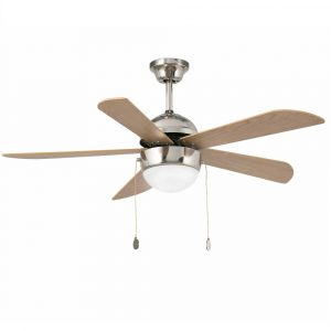 "FARO VENETO 33319 42,1"" matný nikl/cedr/buk Reverzní stropní ventilátor"