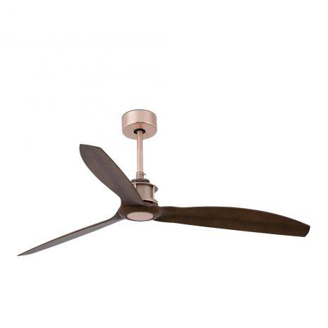 """FARO JUST FAN 33399 50,4"""" měď/vlašský ořech Reverzní stropní ventilátor"""