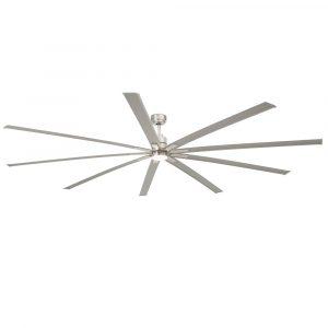 """FARO MANHATTAN 33496 96"""" matný nikl/hliník Reverzní stropní ventilátor"""