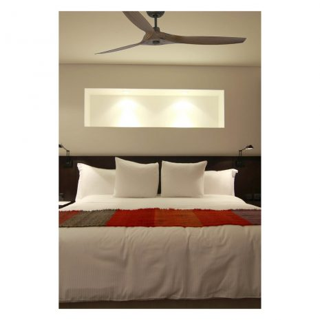 """FARO MOREA 33511 60"""" hnědá/tmavé dřevo Reverzní stropní ventilátor"""