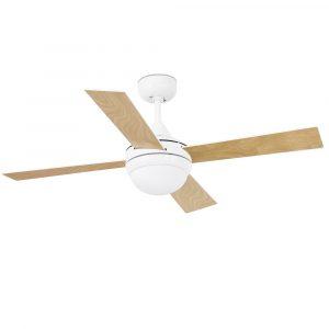 """FARO MINI ICARIA 33698 42"""" bílá/bílá/javor Reverzní stropní ventilátor"""