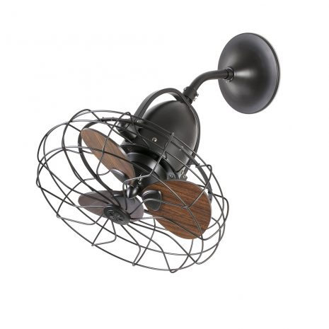 """FARO KEIKI 33715 16,9"""" hnědá/hnědá Reverzní stropní/nástěnný ventilátor"""