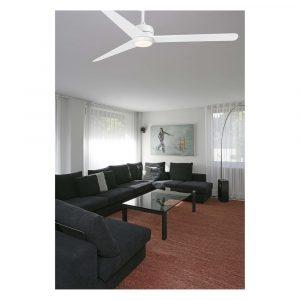 """FARO NU LED 33722 52"""" matná bílá/matná bílá Reverzní stropní ventilátor"""