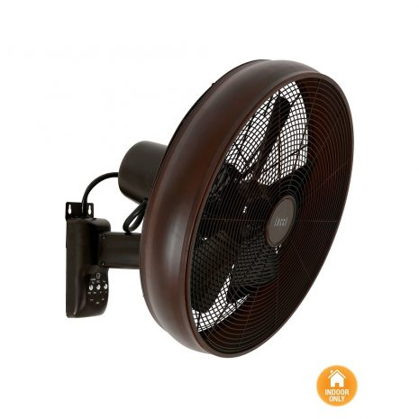"LUCCI AIR BREEZE WALL FAN 213125EU 16"" bronz Nástěnný ventilátor"