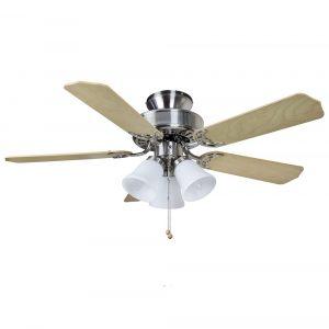 """FANTASIA BELAIRE COMBI 114239 42"""" nerez/javor/tmavý dub Reverzní stropní ventilátor"""
