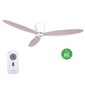 """BEACON LUCCI AIR AIRFUSION RADAR 210518 52"""" bílá/dub Reverzní stropní ventilátor"""