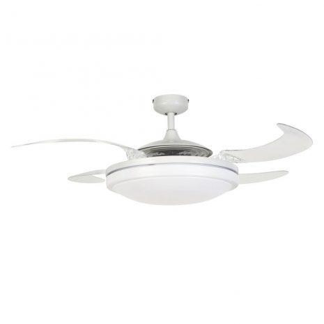 FANAWAY EVO2 210930 48″ bílá/transparentní Reverzní stropní ventilátor