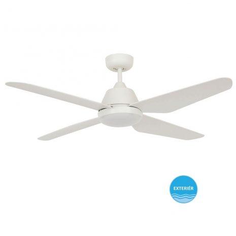 """BEACON LUCCI AIR AIRFUSION ARIA 212994 48"""" bílá/bílá Reverzní stropní ventilátor"""