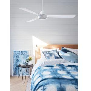 """BEACON BAYSIDE CALYPSO 213015 48"""" bílá/bílá Reverzní stropní ventilátor"""