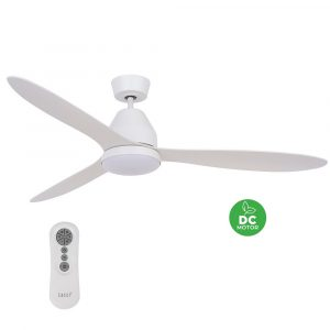 """BEACON LUCCI AIR WHITEHAVEN 213043 56"""" bílá/bílá Reverzní stropní ventilátor"""