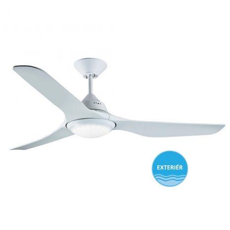 """BEACON LUCCI AIR MARINER 213096 56"""" bílá/bílá Reverzní stropní ventilátor"""
