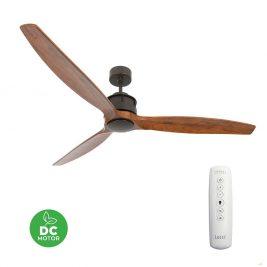 """LUCCI AIR AIRFUSION AKMANI 210507 60"""" bronz/koa Reverzní stropní ventilátor"""