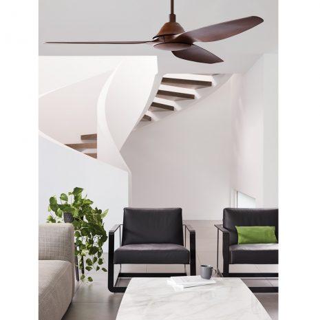 "LUCCI AIR AIRFUSION TYP A 211008 60"" dřevo koa Reverzní stropní ventilátor"