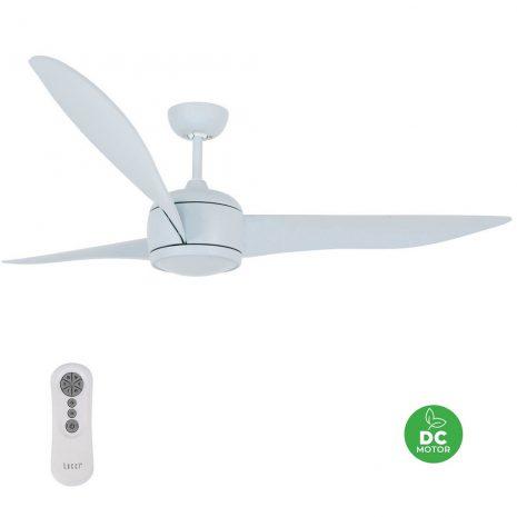 "BEACON LUCCI AIR NORDIC BLUE 212912 56"" matná modrá Reverzní stropní ventilátor"