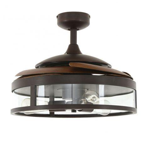 """FANAWAY CLASSIC 212925 48"""" bronz/tmavé dřevo Reverzní stropní ventilátor"""