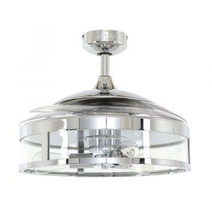 """FANAWAY CLASSIC 212926 48"""" chrom/transparentní Reverzní stropní ventilátor"""