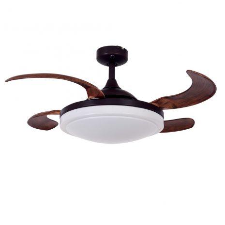 """FANAWAY EVORA 512120 37"""" bronz/tmavé dřevo Reverzní stropní ventilátor"""