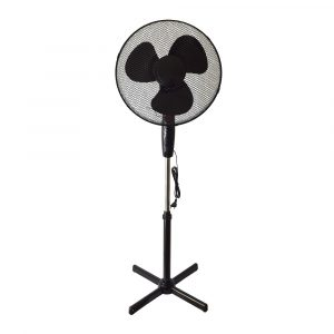 E-LIGHT FS1613 16″ černá Stojanový ventilátor