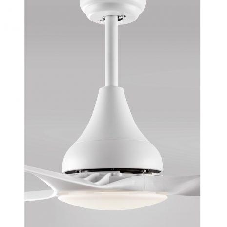 """NOVA LUCE SAMOA 5267301 48"""" bílá/bílá Reverzní stropní ventilátor"""
