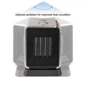 FANTASIA CUBIX HEATER 120001 Horkovzdušný oscilující ventilátor