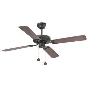 """FARO YAKARTA 33713 47,6"""" hnědá/mahagon/tmavý ořech Reverzní stropní ventilátor"""