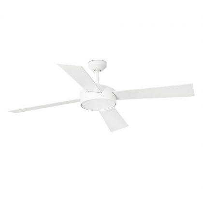 """FARO HYDRA LED 33726 52"""" bílá/bílá Reverzní stropní ventilátor"""