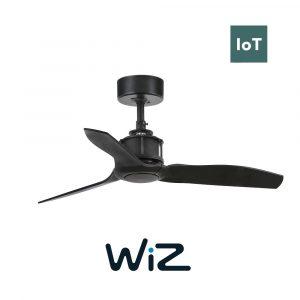 """FARO JUST FAN 33424W 35,8"""" černá/černá Reverzní stropní ventilátor WiZ"""