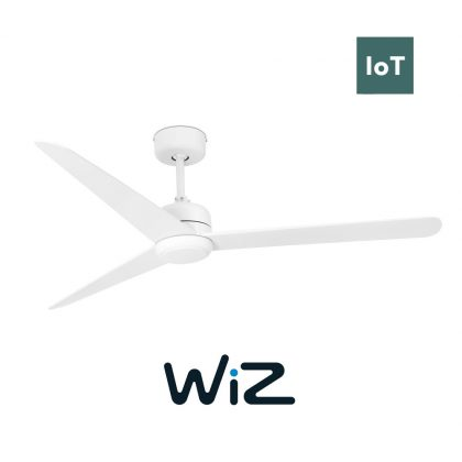 "FARO NU 33721W 52"" matná bílá/matná bílá Reverzní stropní ventilátor WiZ"