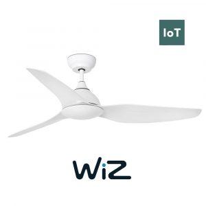 """FARO SIOUX 33770 52"""" bílá/bílá Reverzní stropní ventilátor WiZ"""